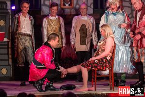 HAMS Productions 2017 the slipper fits
